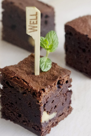 Brownie arba Mint Brownie pyragas - Spoon to The Moon