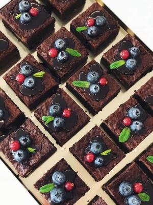 Brownie arba Mint Brownie pyragas