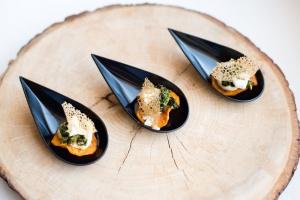 Vegetariškas saldžios bulvės užkandis - Spoon to The Moon